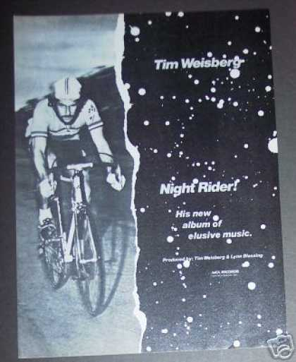 Tim Weisberg Night Rider Record Album Promo (1979)