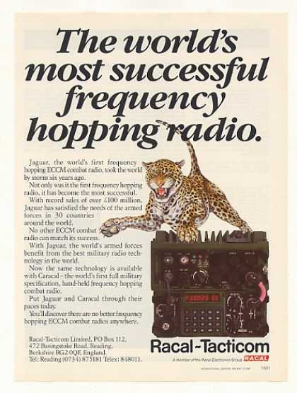 Racal Tacticom Jaguar ECCM Combat Radio (1987)