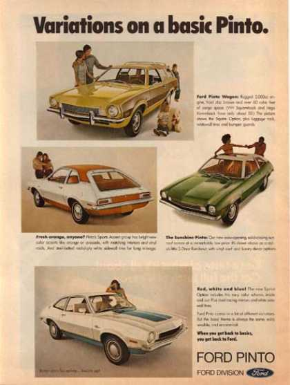 Ford's Pinto (1972)