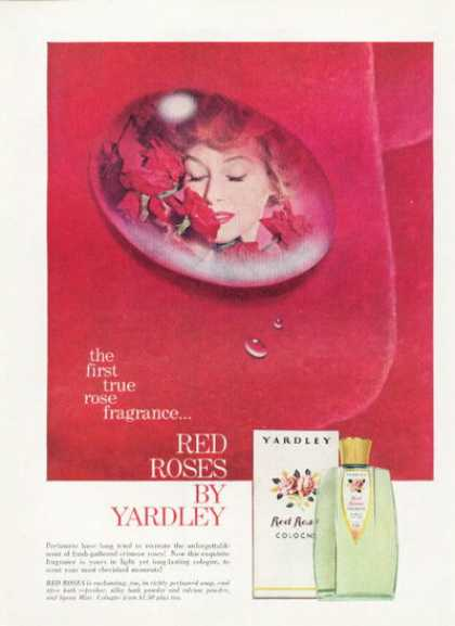Yarley Red Roses Rose Fragrance Cologne (1959)