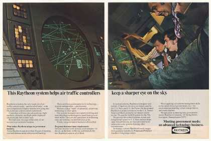 Raytheon Air Traffic Control Display System 2-P (1974)