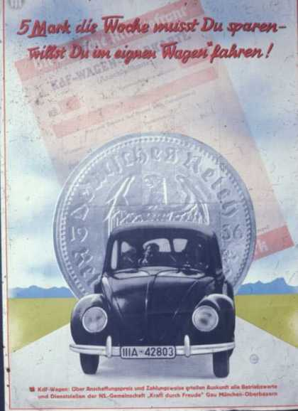 Volkswagen Of The Woodlands >> Vintage Propaganda and Ad Posters of the 1930s (Page 31)