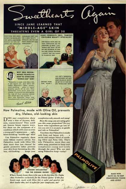 Palmolive Company's Palmolive Soap – Sweethearts Again (1937)
