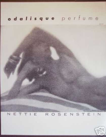 Nettie Rosenstein Odalisque Perfume Nude Photo (1947)