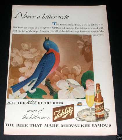 Schlitz Beer, Kiss of the Hops (1944)