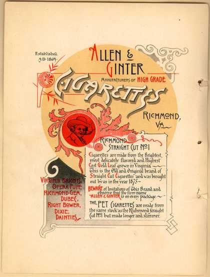 Allen & Ginter – Album of Worlds Champions – Image 2