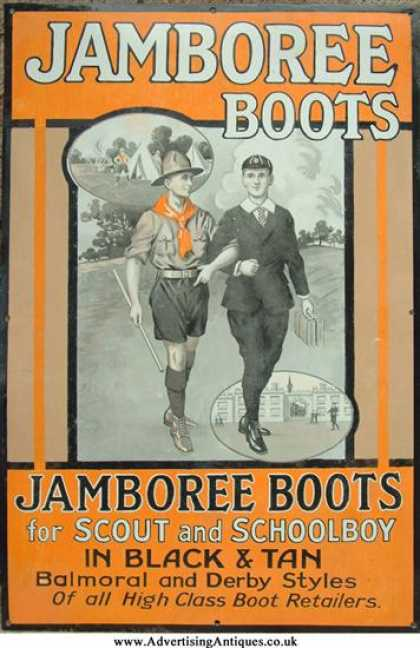 Jamboree Boots Sign