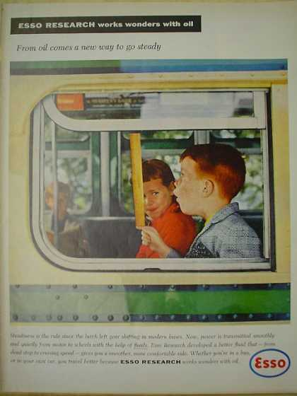 Esso Research From Oil comes a new way to go steady (1958)