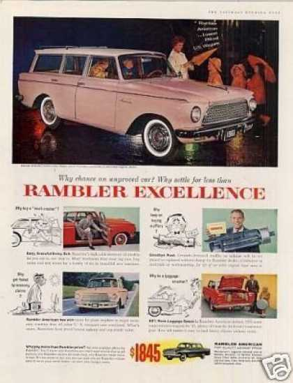 Rambler American Custom 4-door Wagon (1961)