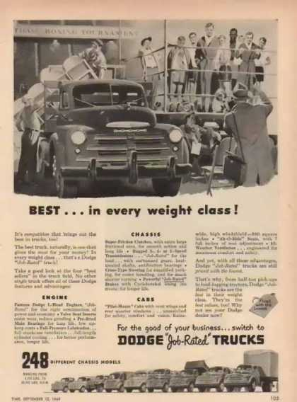 Dodge Trucks – Best in Class (1949)