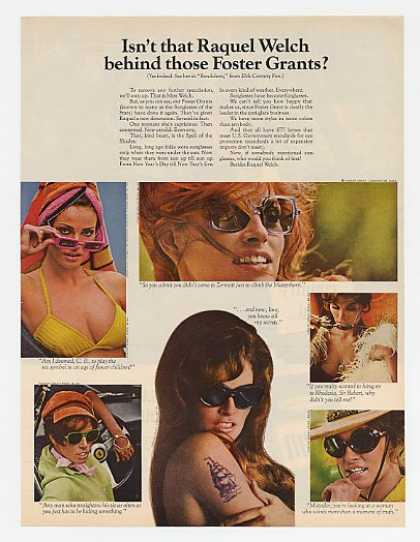Raquel Welch Photo Foster Grant Sunglasses (1968)