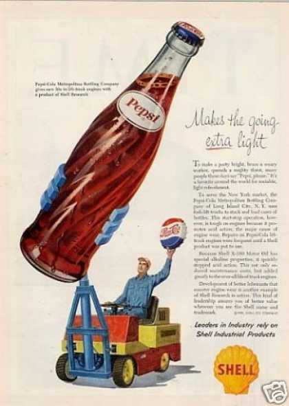 Shell Ad Pepsi-cola Bottling Company (1959)