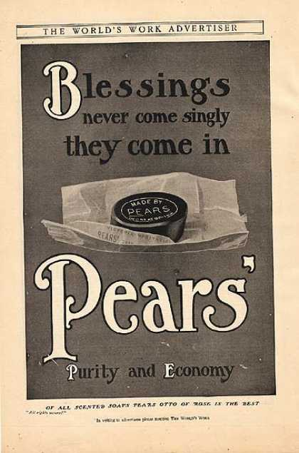 Pear's Scented Soap (1907)