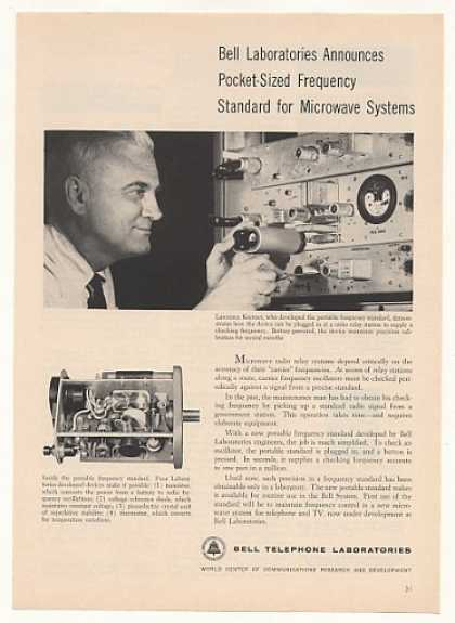 Bell Telephone Labs Portable Frequency Standard (1958)