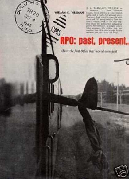 """Rpo: Past, Present, and No Future"" Article (1971)"