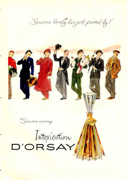 D'orsay Intoxication Perfume Bottle (1953)
