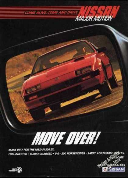 Nissan 300 Zx Car Advertising (1985)