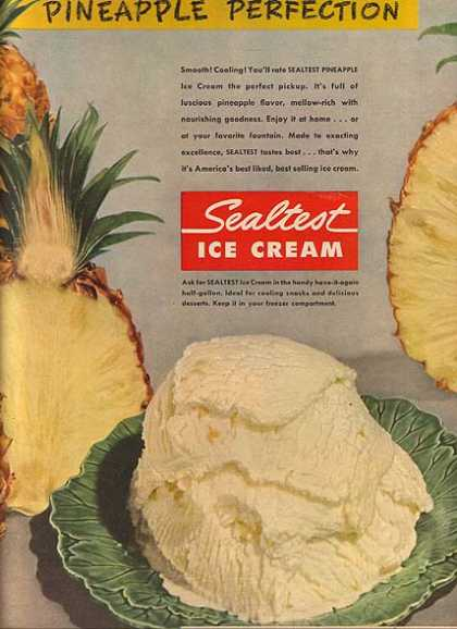 Sealtest's Pineapple Ice Cream (1950)