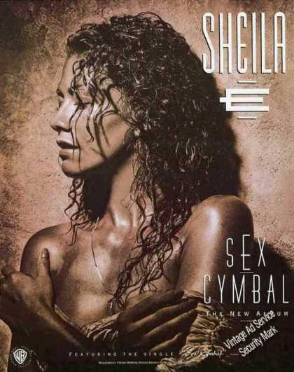 "Sheila Photo ""Sex Cymbal"" Album (1991)"