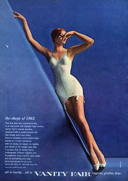 Vanity Fair Girdles Pretty Girl Fashion (1962)