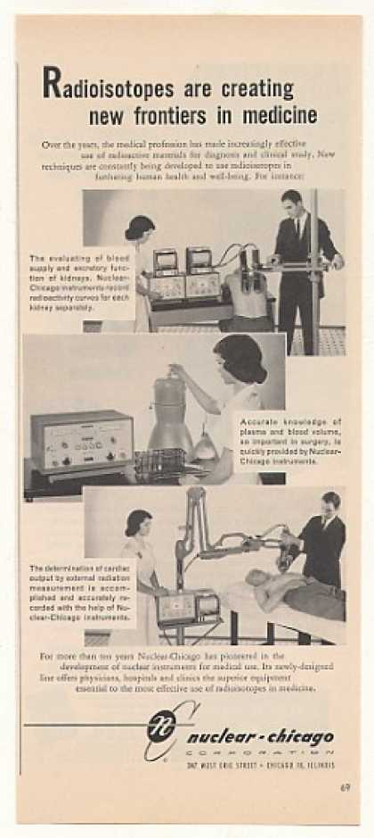 Nuclear Chicago Radioisotopes Medical Equipment (1957)