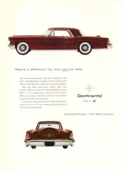Continental Mark Ii Ford Motor Company (1956)