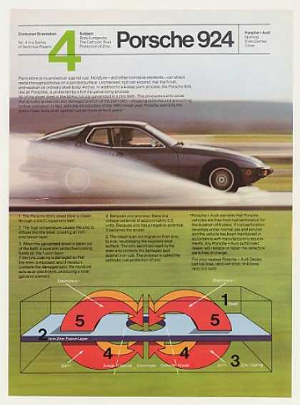 Porsche 924 Rust Protection of Zinc (1980)