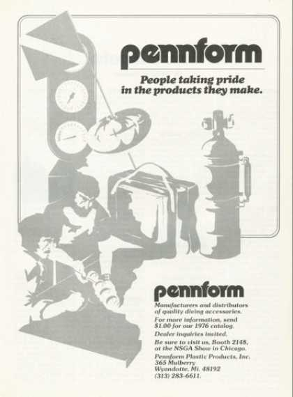 Pennform Scuba Diving Company T (1976)