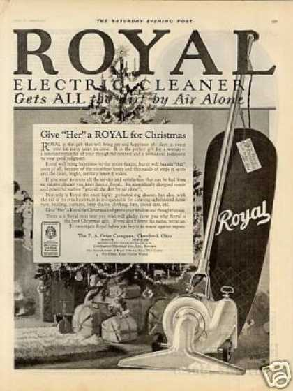 Royal Vacuum Cleaner (1924)