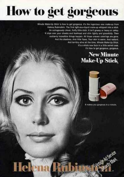 "Helena Rubinstein ""How To Get Gorgeous"" Make-up (1968)"
