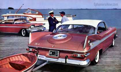 Plymouth Fury at Jordan Marsh, Miami (1959)