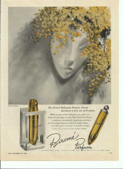 Birome Ball Point Perfume Flacon (1946)