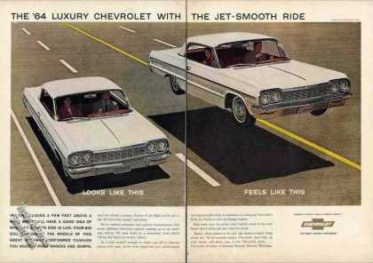Luxury Chevrolet With the Jet-smooth Ride (1964)