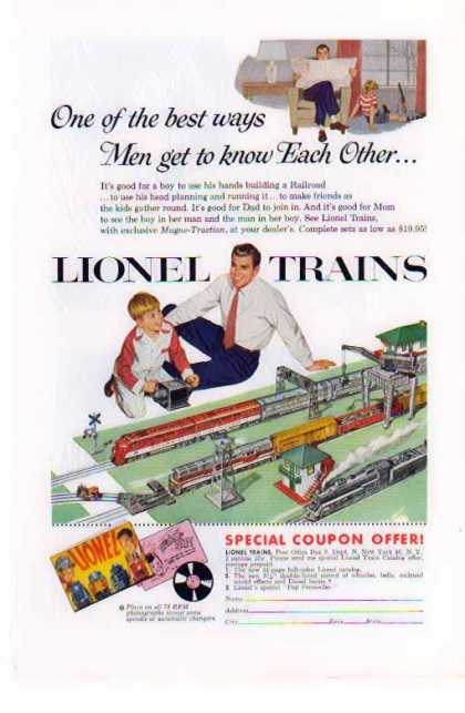 Lionel Train – Magne-Traction – Sold (1954)