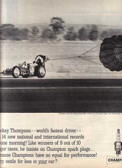 Champion's Mickey Thompson (1962)