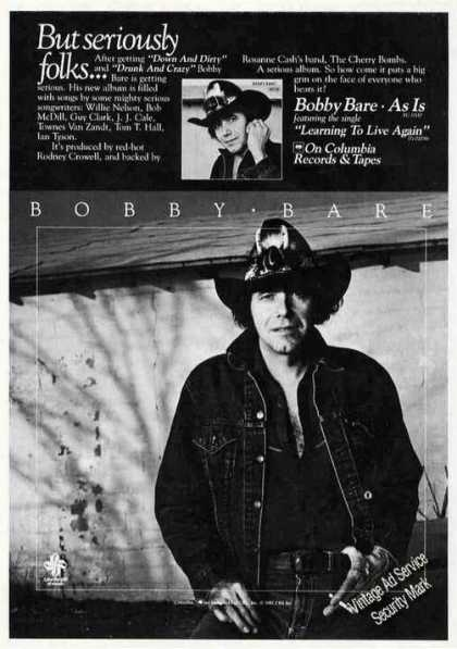 Bobby Bare Photo Album Promo (1981)