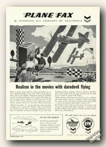 Chevron Rpm Realism In the Movies (1957)