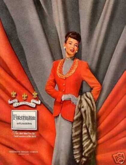 Forstmann Ladies Fashion (1948)