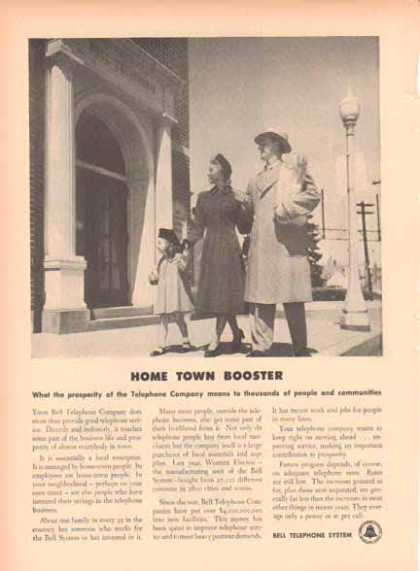 Bell Telephone System – Home Town Booster (1949)