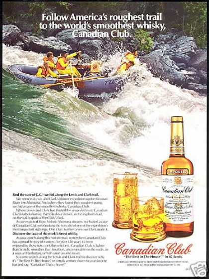 Canadian Club Whisky White River Rafting (1981)