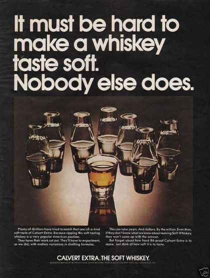 Calvert Soft Whiskey (1972)