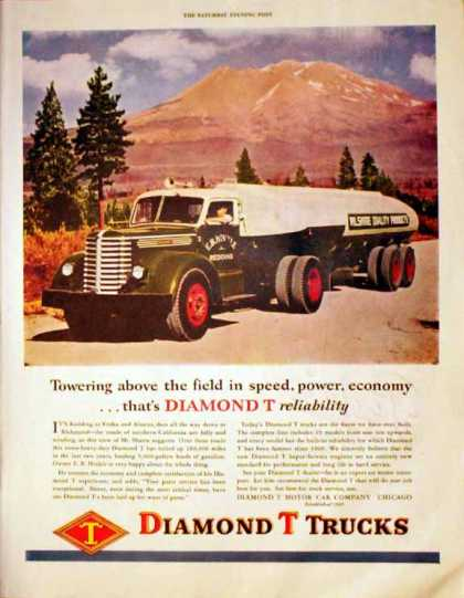 Diamond T Trucks – E.B. Hinkle – Sold (1947)