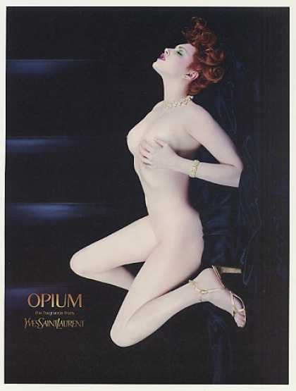Nude Sophie Dahl Yves Saint Laurent Opium Photo (2001)