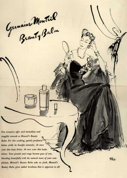 Germaine Monteil's Beauty Balm – Germaine Monteil Beauty Balm (1941)