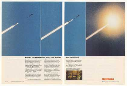 Raytheon Patriot Missile Firing Photo (1989)