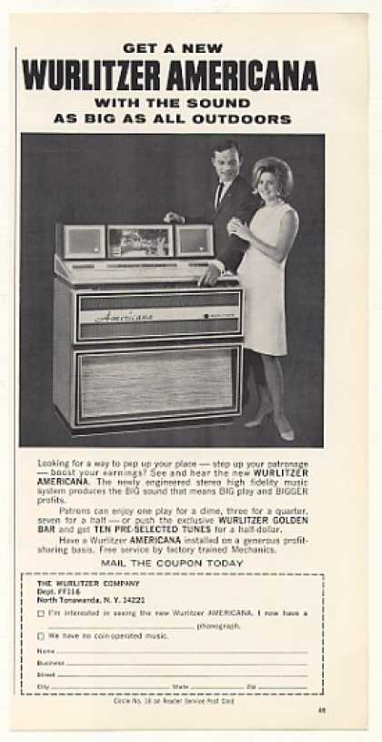 Wurlitzer Americana Jukebox (1966)