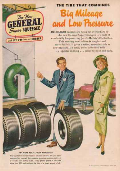 General Tire – Big Mileage Low Pressure (1949)