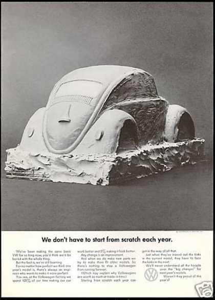VW Volkswagen Bug Same Basic Car Photo (1969)