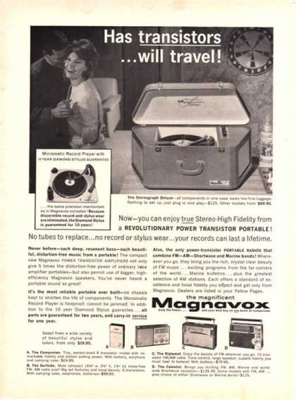 Magnavox Transistor Stereograph Deluxe (1962)