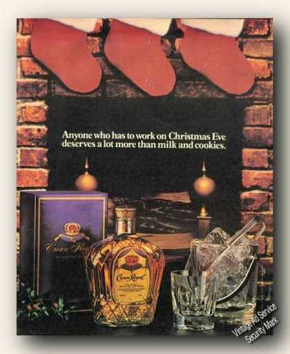Crown Royal Clever Vertising Rare (1984)